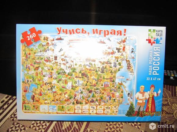 "Пазл на 260  элементов ""Наша Родина- Россия"