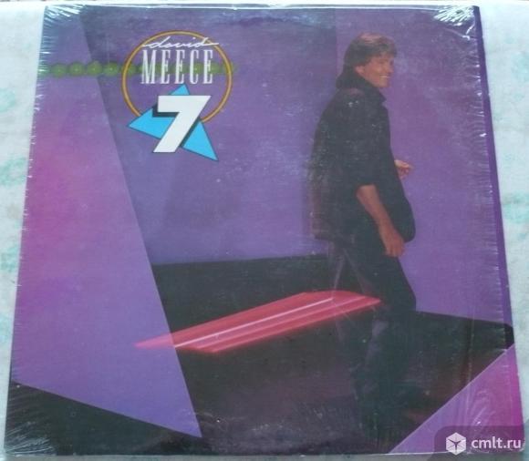 "Грампластинка (винил). Гигант [12"" LP]. David Meece. 7. (P) (C) 1985 Word Inc. Myrrh. MYR R 1208. UK. Фото 1."