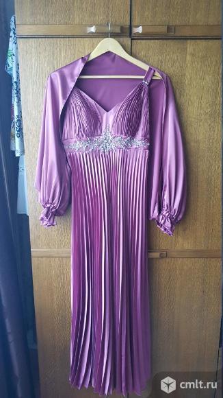 Продаётся вечернее платье-сарафан с накидкой