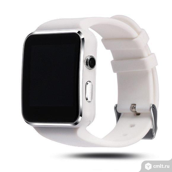 Умные фитнес-часы lemfo Smart Watch X6 белые. Фото 1.