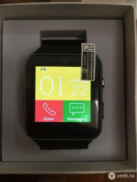 Умные часы Smart Watch X6 черные. Фото 1.