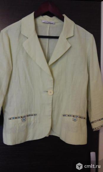 Легкий пиджак (лен). Фото 1.