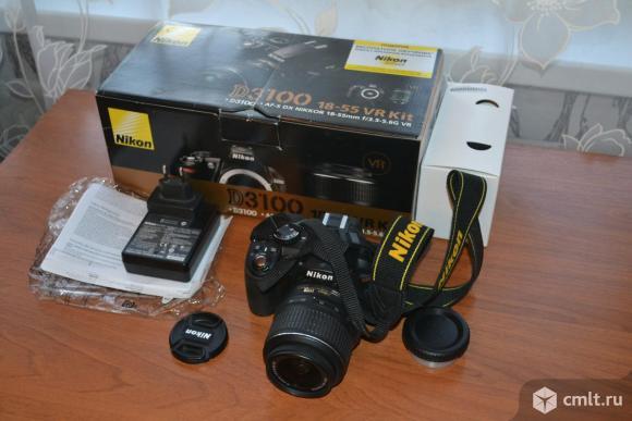 Фотоаппарат цифровой Nikon d3100. Фото 1.