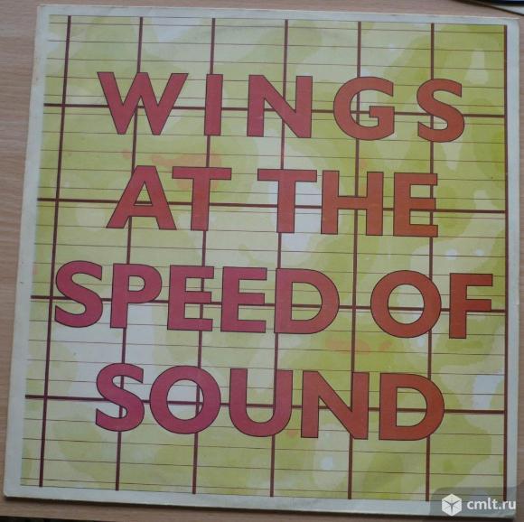 "Грампластинка (винил). Гигант [12"" LP]. Paul McCartney & Wings. Wings At The Speed Of Sound. 1976.. Фото 1."
