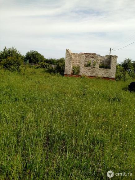 Каширский район, Дзержинского. 7.8 сотки, коробка дома. Фото 1.