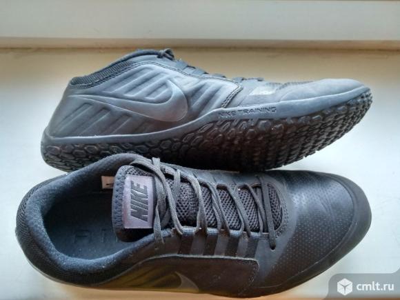 Кроссовки Nike Air кожанные. Фото 1.
