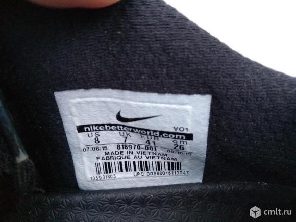 Кроссовки Nike Air кожанные. Фото 6.