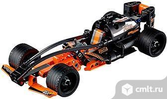 LEGO Technic 42026 Черный гоночный автомобиль конструктор. Фото 1.