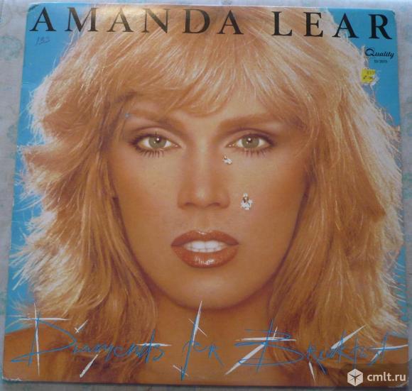 "Грампластинка (винил). Гигант [12"" LP]. Amanda Lear. Diamonds For Breakfast. 1980. Quality. Canada.. Фото 1."