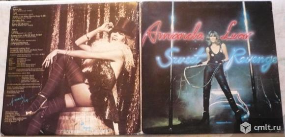 "Грампластинка (винил). Гигант [12"" LP]. Amanda Lear. Sweet Revenge. 1978. Chrysalis Records. USA.. Фото 1."
