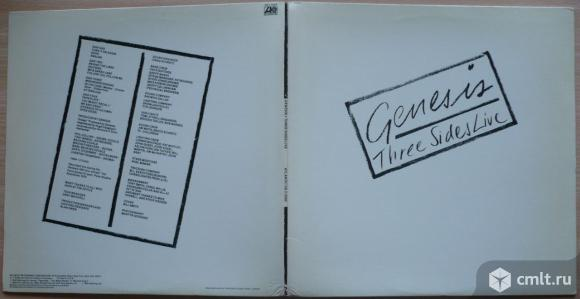"2 грампластинки (винил) [2 LPs]. Гигант [12"" LP]. Genesis. Three Sides Live. 1982. Atlantic. USA.. Фото 1."