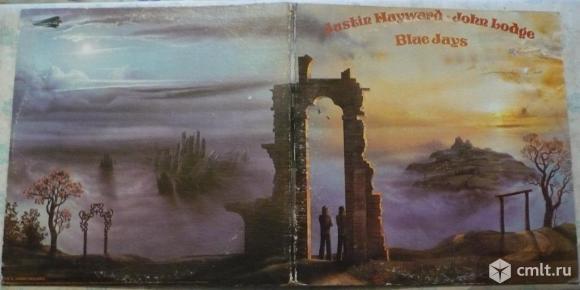 "Грампластинка (винил). Гигант [12"" LP]. Justin Hayward and John Lodge. Blue Jays. 1975 Threshold.. Фото 1."