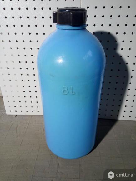 Емкость пластиковая (8л.) для непищевых продуктов. Фото 1.