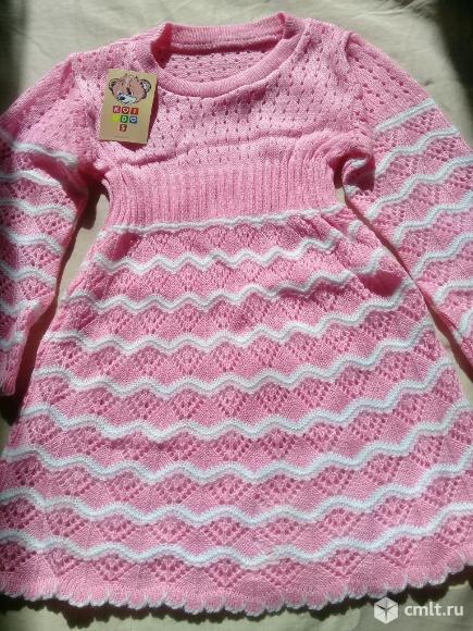 Вязаные платья новые. Фото 1.