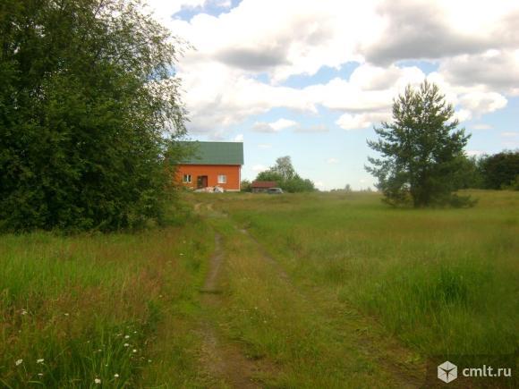 мой участок справа, этот дом 116, мой 114.