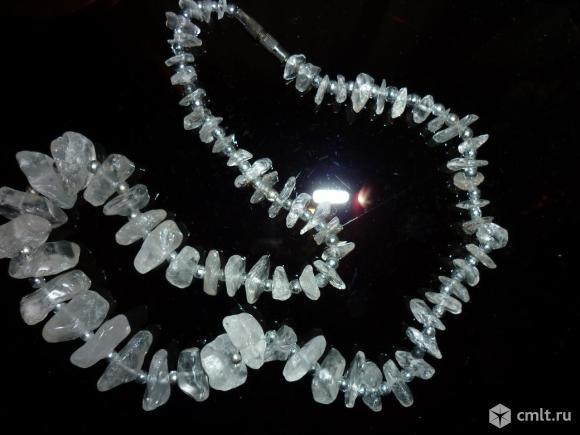 Продаю новые бусы из натуральных камней.Пр-во Индия. Фото 1.