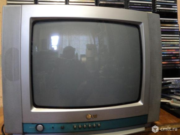 """Телевизор кинескопный цв. LG 14"""" 37 СМ"""