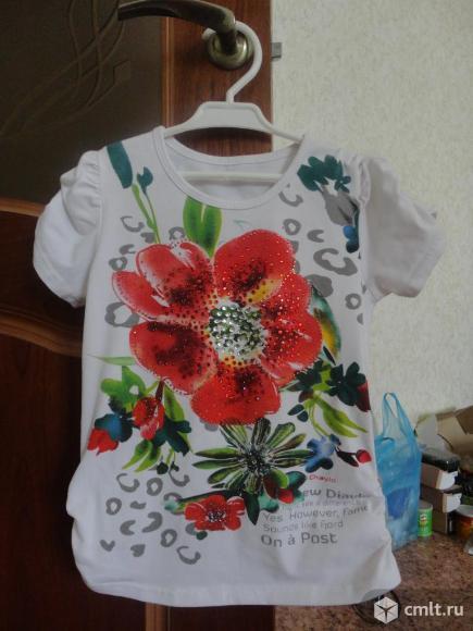 Нарядная футболка. Фото 1.