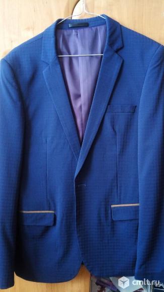 Пиджак с латками