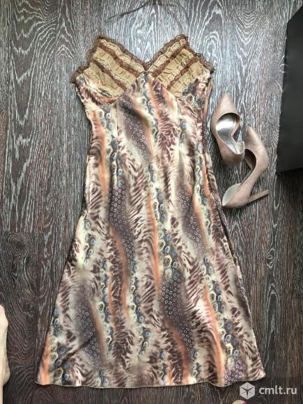 Продаю шелковое платье итальянского бренда Perletti