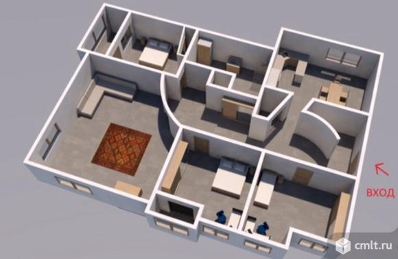 Продаётся 4-комнатная квартира 172 кв.м