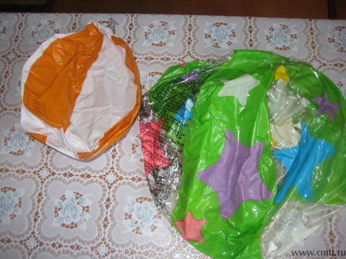 Продам надувные игрушки, мячи. Фото 1.