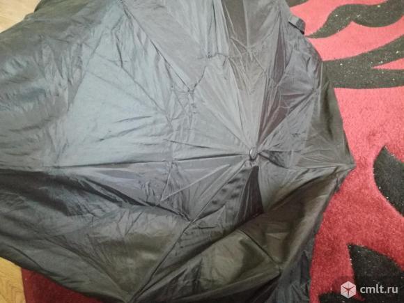 Потрепанный зонт