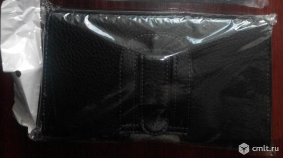 """Чехол сумка для смартфона 5.5 - 6"""", кожаный. Фото 2."""