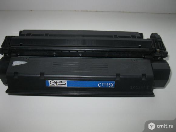 Картридж С7115Х, для hp 1200/ 1220 / 3300 /3380. Фото 1.