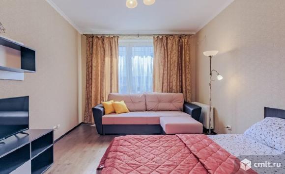 1-комнатная квартира 40 кв.м ул Московский проспект,новый дом,никто нежил,меблирована.Памятник славы. Фото 7.