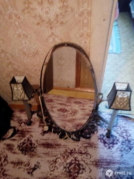 Зеркало ретро с подсветкой