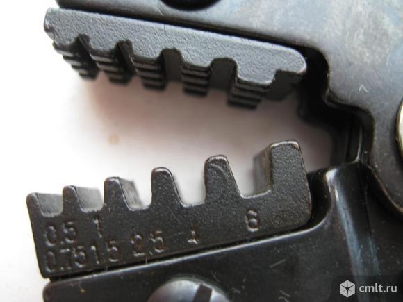 Кримпер для обжима автоклемм. Фото 2.