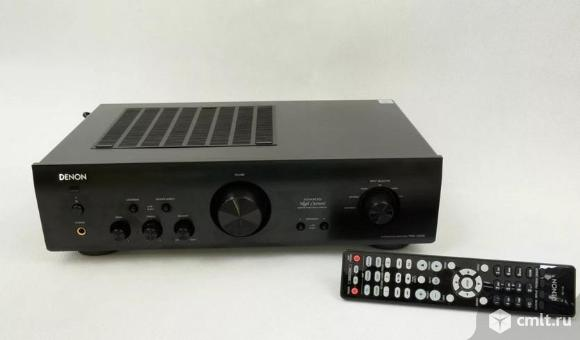 Новый, гарантия год Denon PMA 720 AE Black Усилитель стерео. Фото 1.