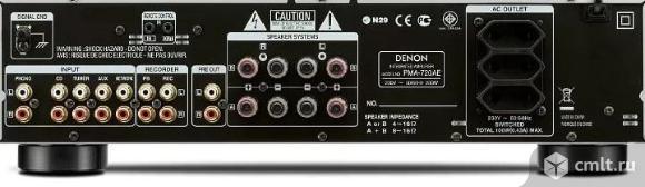Новый, гарантия год Denon PMA 720 AE Black Усилитель стерео. Фото 2.