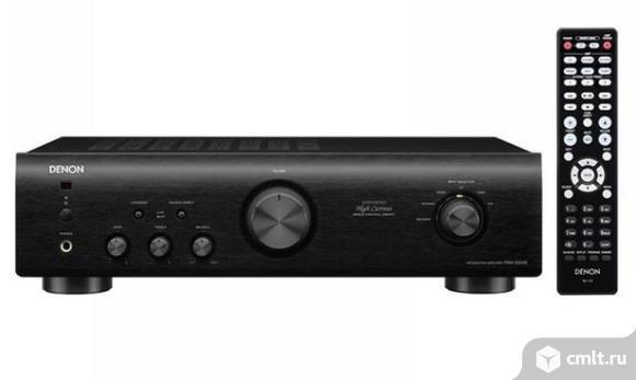 Новый, гарантия год Denon PMA-520AE Black Усилитель стерео. Фото 1.