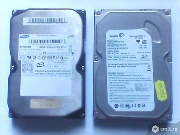 Жесткие диски для компьютера 80 Gb