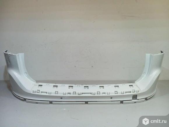 Бампер задний под парктр VOLVO XC60 13-16 б/у 39855021 4*. Фото 1.