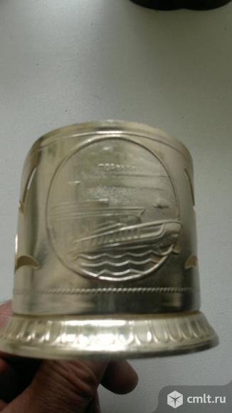 Алюминиевый подстаканник. Фото 2.