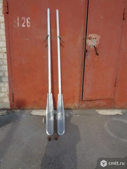 Весла алюминиевые для мотолодки
