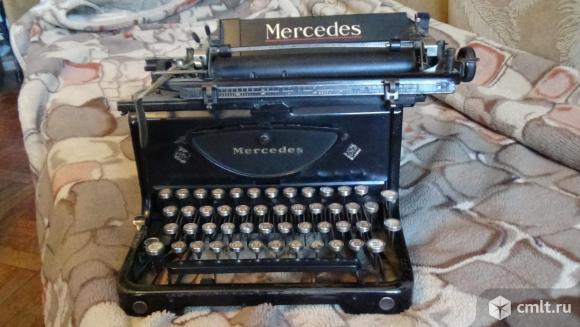 Печатная машинка Мерседес. Фото 1.