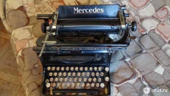 Печатная машинка Мерседес. Фото 2.