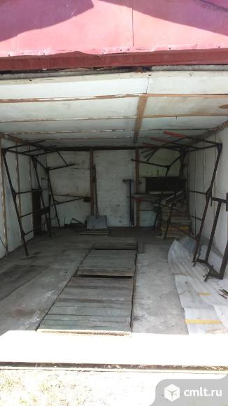 Металлический гараж 16 кв. м Комета. Фото 1.