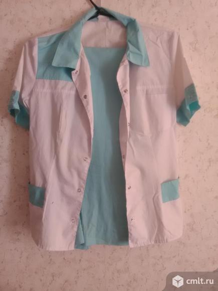 Халаты, костюмы для работы 48-54 размеры. Фото 1.