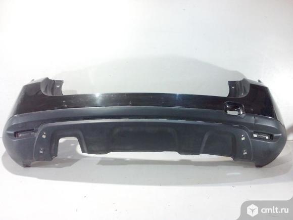 Бампер задний RENAULT DUSTER под накладку 10-15 б/у 850225291R 3*. Фото 1.
