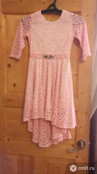 Продам нарядное платье для девочки 10-12 лет