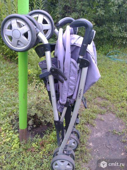 """Складная коляска""""Урбан-Беби"""", в хорошем состоянии."""