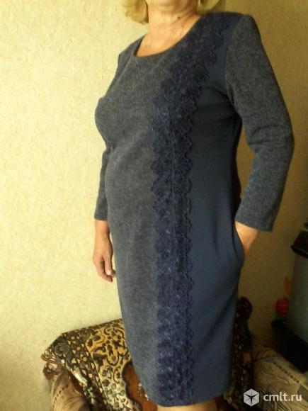 Платье трикотажное. Фото 4.