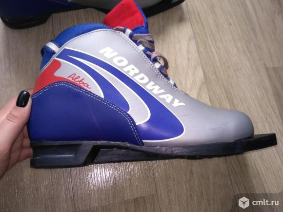Лыжные ботинки. Фото 1.