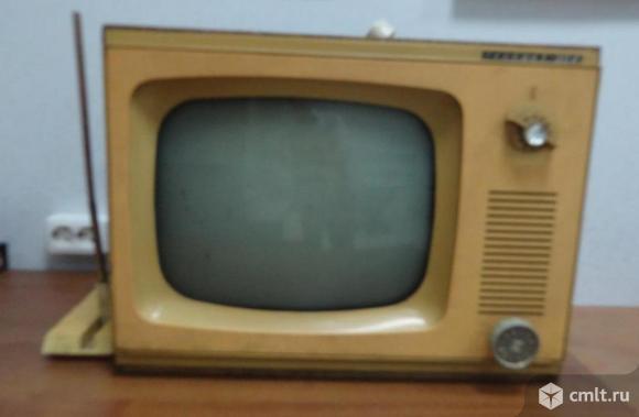 Телевизор кинескопный ч/б Рассвет 304. Фото 1.