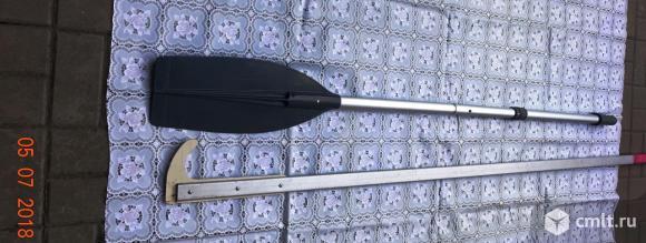 Весло и багор для лодки